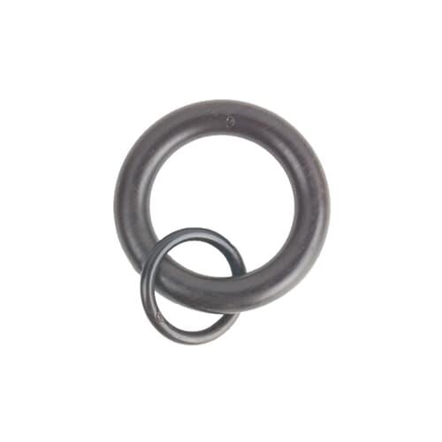 RINGS W/ LOOP 2 ESPRESSO (10 PER PACK)