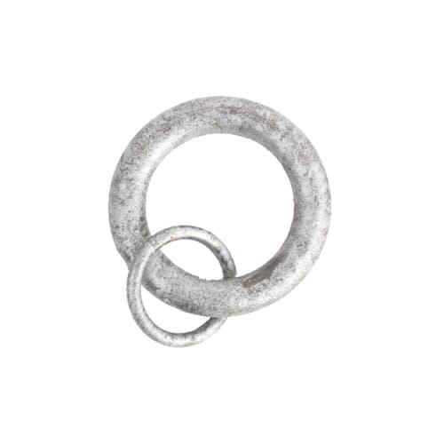 RINGS W/ LOOP 4 SILVER (10 PER PACK)