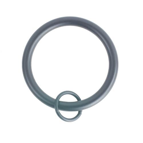 RINGS W/ LOOP 1 BLACK (10 PER PACK)