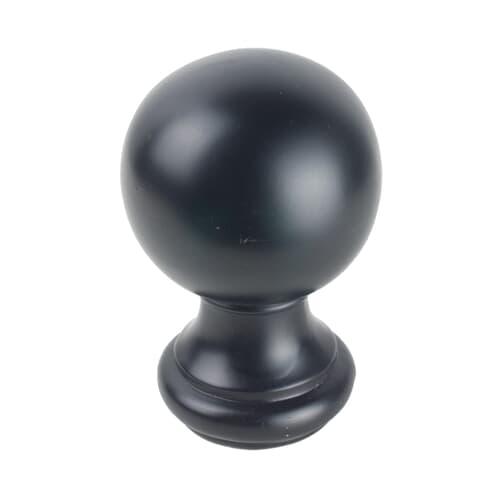 BALL FINIAL 1 BLACK